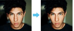 Photoshopでできること「肌をキレイにする」