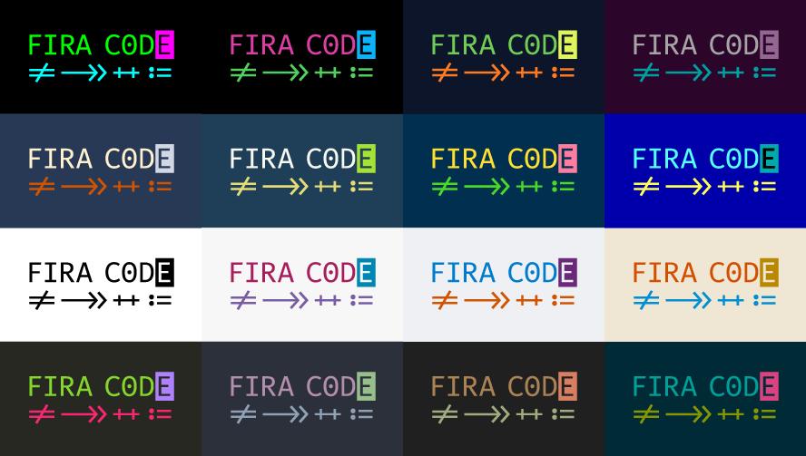 おすすめコーディングフォントFira Code